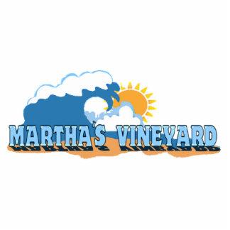 """Diseño de las """"ondas"""" del Martha's Vineyard Esculturas Fotograficas"""