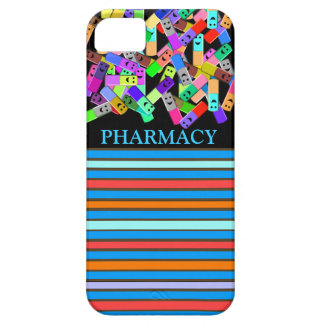 """Diseño de las """"píldoras felices"""" de la farmacia iPhone 5 protectores"""