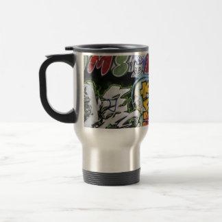 Diseño de las pintadas taza térmica