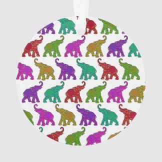 Diseño de las tejas del modelo del paseo del elefa