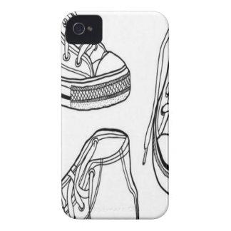 Diseño de las zapatillas de deporte Case-Mate iPhone 4 cobertura