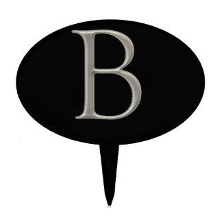 Diseño de letra de encargo de la inicial B