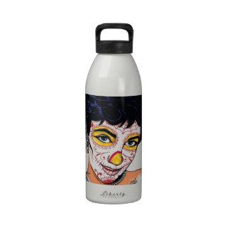 diseño de liz del Poppa doc. Arrue Botella De Agua Reutilizable