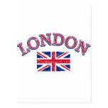 Diseño de Londres Union Jack Postal