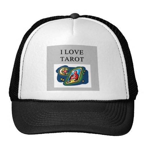 diseño de los amantes de la carta de tarot gorras de camionero