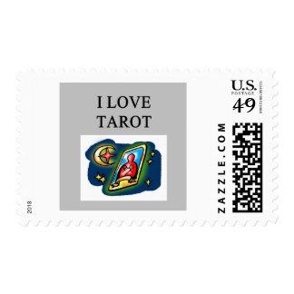 diseño de los amantes de la carta de tarot sellos