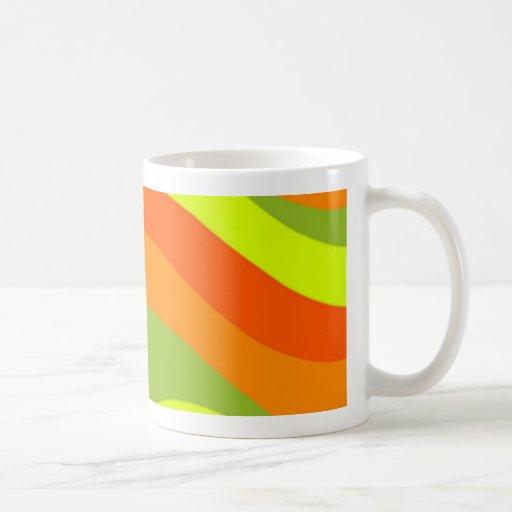 diseño de los años 60 tazas de café