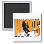 diseño de los aros de baloncesto imán de frigorífico