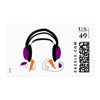Diseño de los auriculares--Amantes de la música Sellos
