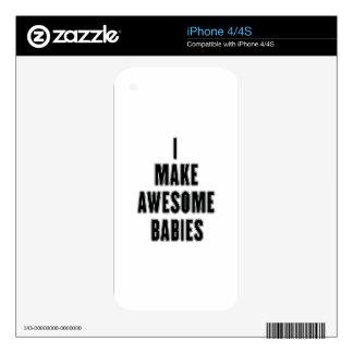 Diseño de los BEBÉS Skins Para iPhone 4S