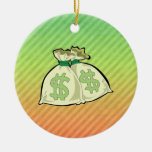 Diseño de los bolsos del dinero adorno para reyes