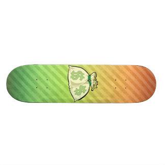 Diseño de los bolsos del dinero tablas de skate