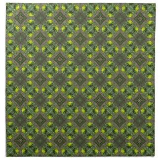 Diseño de los brotes de flor servilletas de papel