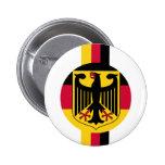 Diseño de los colores de Deutschland Fussball Eagl Pin