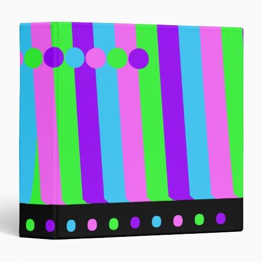 """Diseño de los colores en colores pastel carpeta 1 1/2"""""""