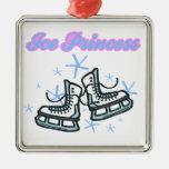 diseño de los copos de nieve de los príncipes del  ornamentos para reyes magos
