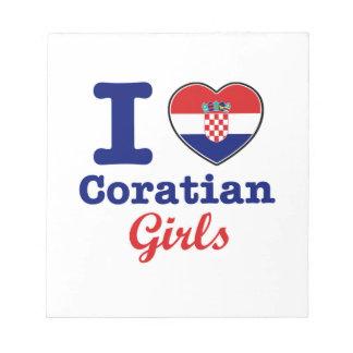 Diseño de los croatas blocs