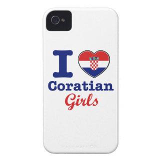 Diseño de los croatas iPhone 4 cárcasa