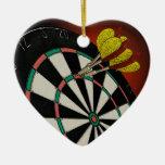 Diseño de los dardos ornamentos de navidad