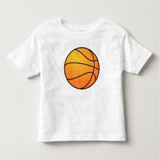 Diseño de los deportes del baloncesto playera de bebé