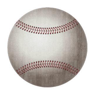 Diseño de los deportes del béisbol tabla para cortar