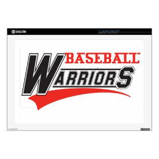 diseño de los guerreros del béisbol portátil 43,2cm skins