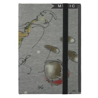 diseño de los instrumentos musicales iPad mini cárcasa