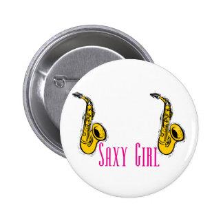 Diseño de los jugadores de saxofón del rosa del ch pin