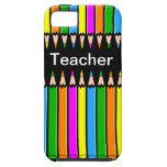 Diseño de los lápices del caso del iPhone 5 del pr iPhone 5 Case-Mate Coberturas