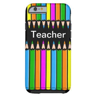 Diseño de los lápices del caso del iPhone 6 del Funda Para iPhone 6 Tough