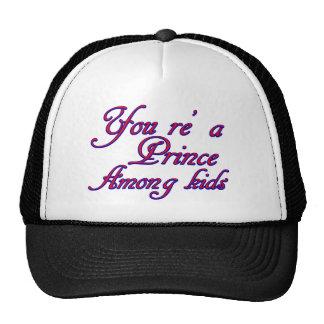 diseño de los niños gorras