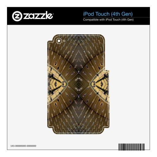 Diseño de los ojos de serpiente de la piel de serp iPod touch 4G calcomanías