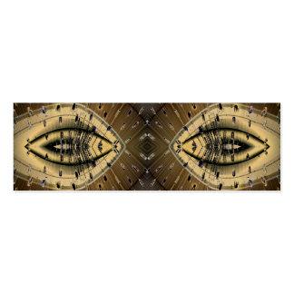 Diseño de los ojos de serpiente de la piel de serp tarjeta de visita