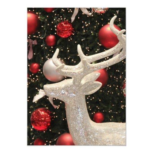 Diseño de los ornamentos del árbol de navidad del comunicados