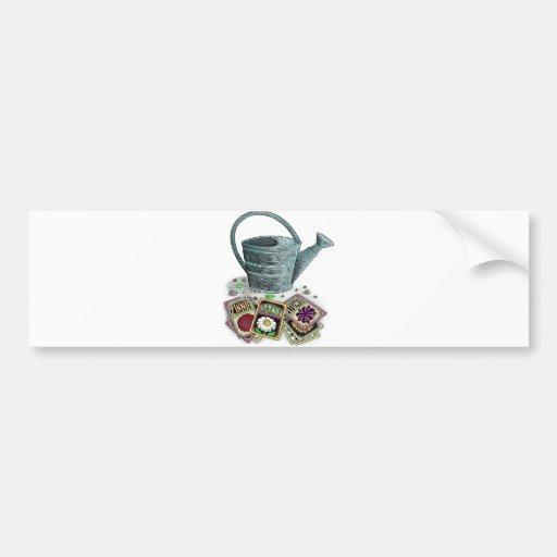 Diseño de los paquetes de la regadera y de la semi etiqueta de parachoque
