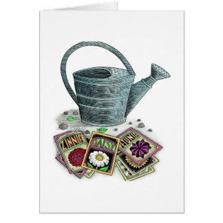 Diseño de los paquetes de la regadera y de la semi tarjetas