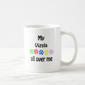 Diseño de los paseos de Vizsla Taza