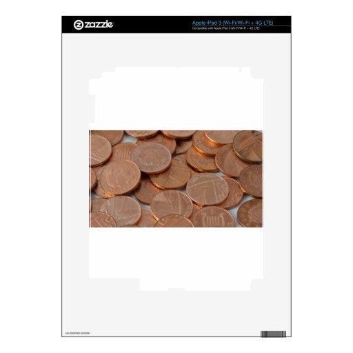 diseño de los peniques pegatina skin para iPad 3