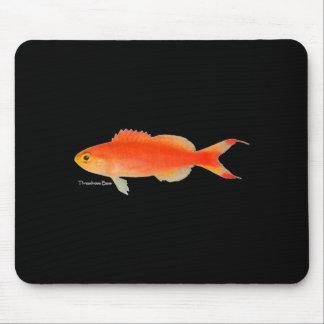 Diseño de los pescados del oro alfombrilla de raton