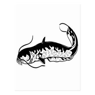 diseño de los pescados tarjeta postal