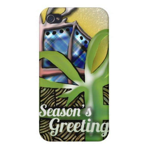 Diseño de los regalos de Navidad iPhone 4 Cobertura