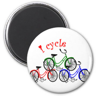 Diseño de los regalos del ciclista (el montar en b imán redondo 5 cm