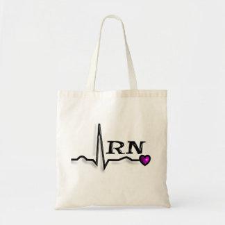 Diseño de los regalos QRS de la enfermera registra Bolsas De Mano