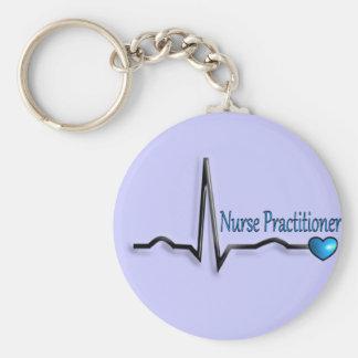 Diseño de los regalos QRS del médico de la enferme Llavero Redondo Tipo Pin