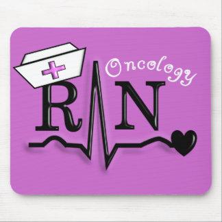 Diseño de los regalos QRS del RN de la enfermera d Tapetes De Ratón
