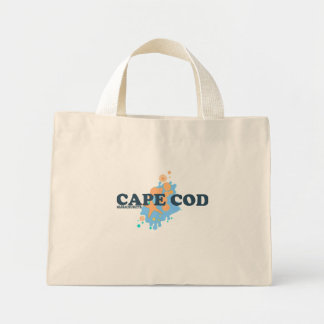Diseño de los Seashells de Cape Cod Bolsas De Mano