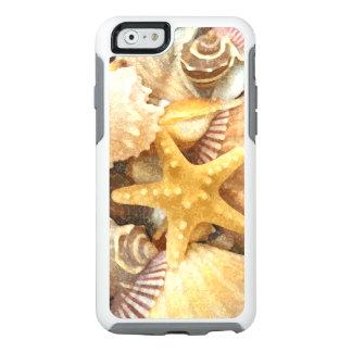 Diseño de los Seashells del tema de la playa Funda Otterbox Para iPhone 6/6s