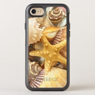 Diseño de los Seashells del tema de la playa Funda OtterBox Symmetry Para iPhone 7