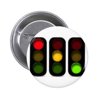 Diseño de los semáforos pin redondo de 2 pulgadas