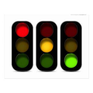 Diseño de los semáforos postales